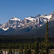 Banff National Park Panorama Art Print