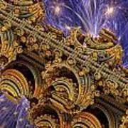 Bangkok Palace Art Print by Pam Blackstone