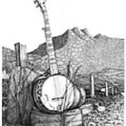 Banjo 2 Art Print