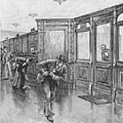 Bank Snatcher, 1890 Art Print