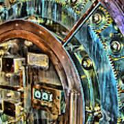 Bank Vault Door Art Print