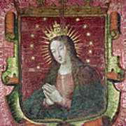 Banner Of Hernan Cortes Art Print