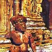 Banteay Srei Statue Art Print