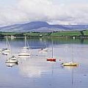 Bantry Bay, County Cork, Ireland Boats Art Print