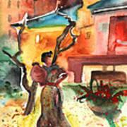 Barbastro 02 Art Print