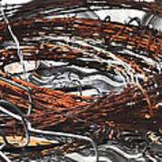 Barbed Art Print