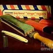 Barber - Keep The Razor Sharp Art Print
