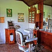 Barber Shop 2 Art Print