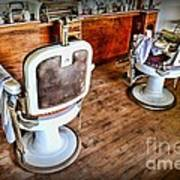 Barber - The Barber Shop 2 Print by Paul Ward
