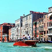 Barca Di Venezia Art Print