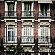 Barcelona Balconies Art Print