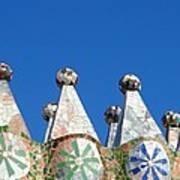 Barcelona Impression 2 Art Print