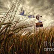 Barley And The Pump Art Print