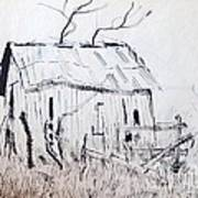Barn 1 Art Print by Rod Ismay