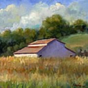 Barn On Lakeville Highway Art Print