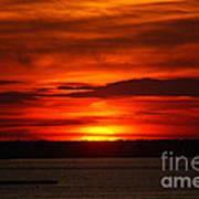 Barnegat Bay Sunset Art Print