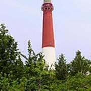Barnegat Lighthouse Old Barney Long Beach Island Nj Art Print