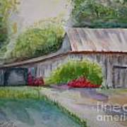 Barns Last Days Art Print by Terri Maddin-Miller