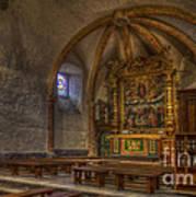 Baroque Church In Savoire France 3 Art Print