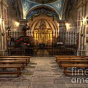 Baroque Church In Savoire France 4 Art Print