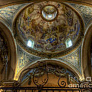 Baroque Church In Savoire France 5 Art Print