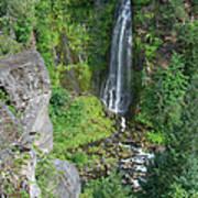 Barr Creek Falls Art Print