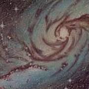 Barred Spiral Galaxy Ngc 1313 Art Print