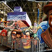 Barricade Heads Art Print
