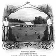 Baseball, 1861 Art Print
