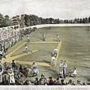 Baseball, 1866 Art Print