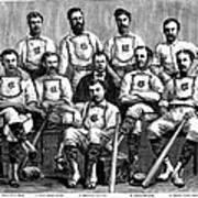 Baseball: Canada, 1874 Art Print by Granger