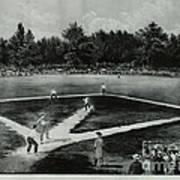 Baseball In 1846 Art Print by Omikron