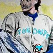 Baseball Player Print by First Star Art