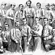 Baseball Teams, 1866 Art Print by Granger