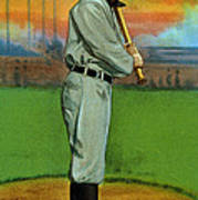 Baseball. Ty Cobb Baseball Card Art Print by Everett