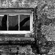 Basement Window Art Print