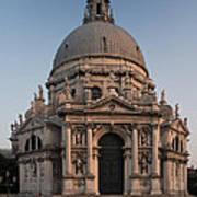 Basilica Of Santa Maria Della Salute Venice Art Print