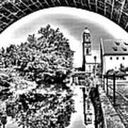 Basilika St. Martin  Art Print