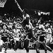 Basketball Game, 1966 Art Print