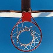 Basketball Goal Art Print