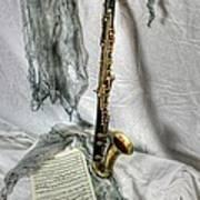 Bass Clarinet Art Print