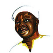 Bassek Ba Kobhio Art Print