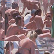 Bathers - I Bagnanti Art Print