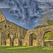 Battle Abbey Ruins Art Print