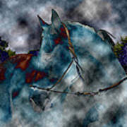 Battle Cloud - Horse Of War Art Print