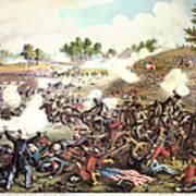 Battle Of Bull Run, 1861 Art Print