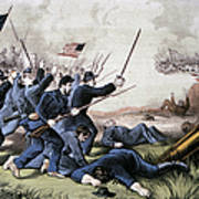Battle Of Jonesboro, 1864 Art Print