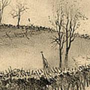 Battle Of Kernstown, 1862 Art Print
