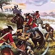 Battle Of Sedgemoor Art Print
