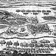 Battle Of Steinau, 1633 Art Print